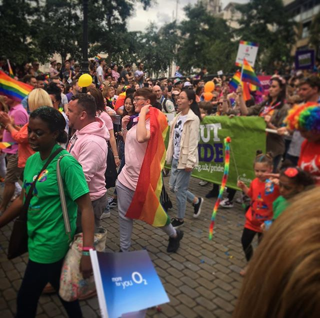 """What stands out in events like Leeds Pride is how internationally unified this city is. Gender and skin colour are the factors which cannot stop most of these women calling this place """"home"""". R #ourhereleeds #secondhomeourhere #internationalleeds #multiculturalleeds #leedsface #leedsevents #leedsinternationalwomen #lifeasanimmigrant #leedspride2017 #leedswomen #leedscarnivals #knowyourleeds #leedslife #equalrights #genderspecific #livingasawoman #internationalwomen #immigrantlife"""
